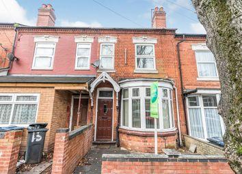 Thumbnail 3 bed terraced house for sale in Geraldine Road, Yardley, Birmingham