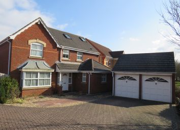 Thumbnail 6 bed detached house for sale in Blanchard Close, Wootton, Northampton