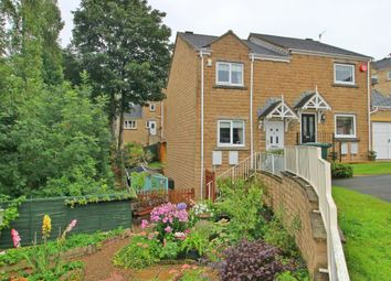Thumbnail 2 bed semi-detached house for sale in Banks Road, Linthwaite, Huddersfield
