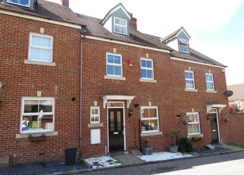 Thumbnail 4 bed town house for sale in Kingfisher Grove, Three Mile Cross, Reading