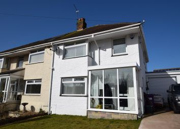 Thumbnail 3 bed semi-detached house for sale in Nant Talwg Way, Barry