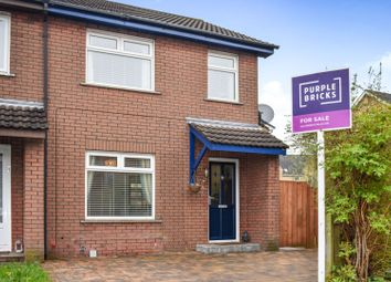 Thumbnail 3 bedroom end terrace house for sale in Ravenhill Court, Belfast
