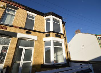 Thumbnail 3 bed end terrace house for sale in York Road, Wallasey