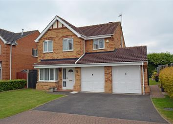 Thumbnail 4 bed detached house for sale in Mulberry Drive, Crowle, Scunthorpe