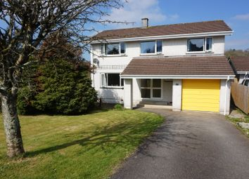Thumbnail 4 bed detached house for sale in Homefield Park, Bodmin