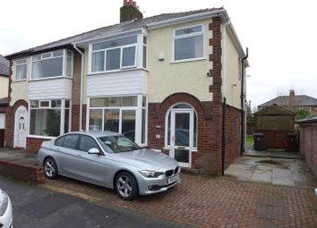 Thumbnail 3 bedroom semi-detached house for sale in Beechwood Avenue, Fulwood, Preston
