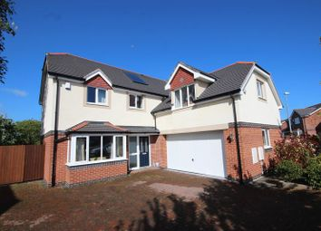 Thumbnail 4 bed detached house for sale in Parc Castell, Llandudno Junction