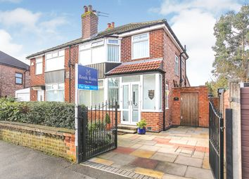 Thumbnail 3 bed semi-detached house for sale in Heswall Road, Reddish, Stockport