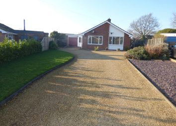 Thumbnail 3 bed detached bungalow for sale in Gilbert Close, Alpington