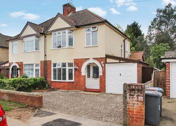 Thumbnail 4 bed semi-detached house for sale in Deben Avenue, Martlesham Heath, Ipswich