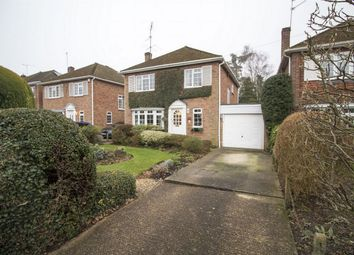 Thumbnail 4 bed detached house for sale in Basingbourne Road, Church Crookham, Fleet