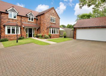 Thumbnail 5 bed detached house for sale in Church Road, Webheath, Redditch