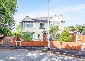 Thumbnail 4 bed detached house for sale in The Crescent, Waterloo, Liverpool