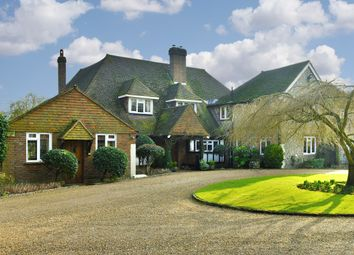Thumbnail 5 bed equestrian property for sale in Shepherds Walk, Headley, Epsom