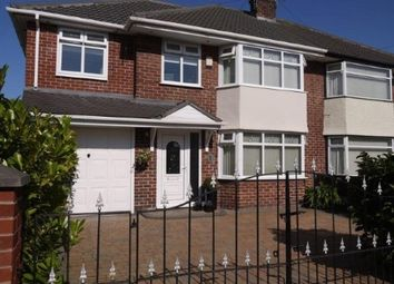 Thumbnail 5 bed semi-detached house for sale in Virginia Avenue, Lydiate, Merseyside