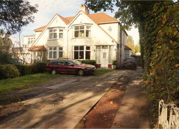 Thumbnail 3 bed semi-detached house for sale in Roby Road, Liverpool