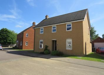 Thumbnail 4 bed detached house for sale in Ridge View, Houghton Conquest, Bedford