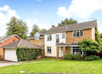 Thumbnail 5 bed detached house for sale in St Michaels Close, North Waltham, Basingstoke