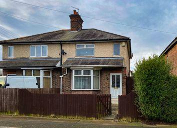 Thumbnail 2 bed semi-detached house for sale in Wellington Street, Long Eaton, Nottingham