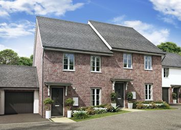 "Thumbnail 3 bedroom semi-detached house for sale in ""Finchley"" at Godwell Lane, Ivybridge"