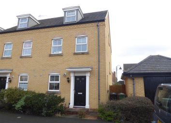 Thumbnail 3 bed end terrace house for sale in Sprigs Road, Hampton Hargate, Peterborough