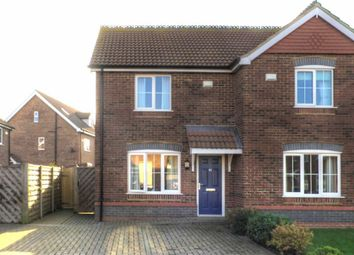 Thumbnail 2 bed property for sale in Old School Close, Brigg