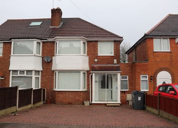 Thumbnail Semi-detached house for sale in Green Acres Road, Birmingham
