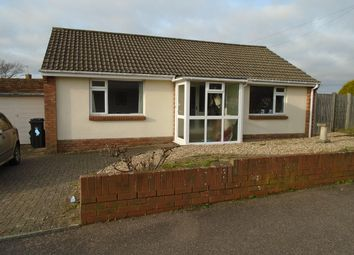 Thumbnail 2 bedroom detached bungalow to rent in Booth Way, Exmouth