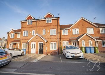 Thumbnail 3 bed town house for sale in Mulberry Close, Mansfield