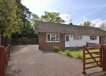 Thumbnail 2 bedroom semi-detached bungalow for sale in Wickham Road, Church Crookham, Fleet