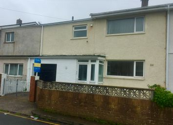 Thumbnail 3 bed terraced house to rent in Gibbons Way, North Cornelly