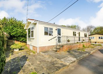 Thumbnail 2 bedroom mobile/park home for sale in Cummings Hall Lane, Noak Hill, Romford