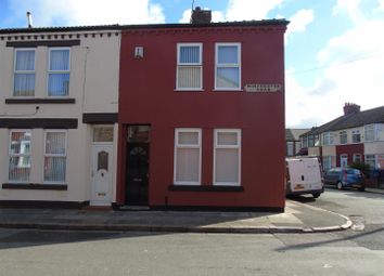 Thumbnail 3 bedroom end terrace house for sale in Winchester Road, Anfield, Liverpool