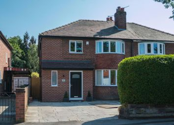 Thumbnail 4 bed semi-detached house for sale in Woodcote Road, West Timperley, Altrincham