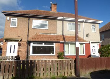 Thumbnail 2 bed semi-detached house to rent in Princes Gardens, Blyth