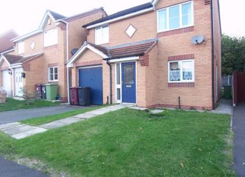 Thumbnail 3 bed detached house to rent in Carnation Road, Shirebrook, Mansfield, Derbyshire