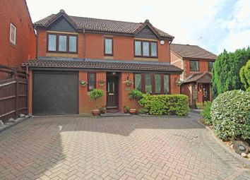 Thumbnail 4 bed detached house for sale in Nutfield Road, Rownhams, Southampton