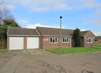Thumbnail 3 bed detached bungalow for sale in Danes Close, Peterborough