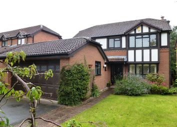 Thumbnail 4 bed detached house to rent in Long Meadow, Eccleston, St Helens