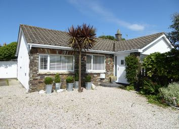 Thumbnail 3 bed detached bungalow for sale in Atlantic Close, Treknow, Tintagel