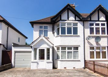 Thumbnail 3 bedroom semi-detached house for sale in Belmont Avenue, New Malden