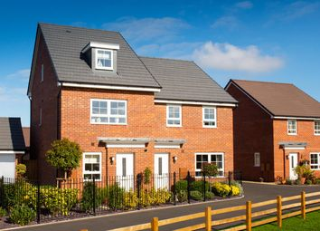 "Thumbnail 4 bed detached house for sale in ""Chester"" at Musselburgh Way, Bourne"