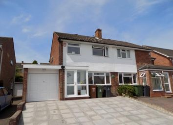 Thumbnail 3 bed semi-detached house for sale in Whitethorn Crescent, Sutton Coldfield, West Midlands
