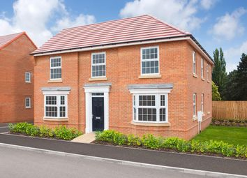 "Thumbnail 4 bed detached house for sale in ""Eden"" at Newton Road, Newton Solney, Burton-On-Trent"
