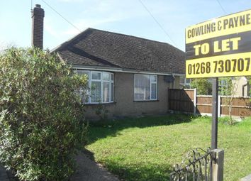 Thumbnail 2 bed semi-detached bungalow to rent in Lilac Avenue, Wickford, Essex