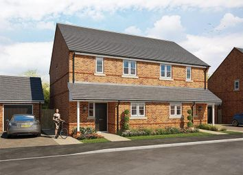 Thumbnail 2 bedroom semi-detached house for sale in Cross Trees Park, Highworth Road, Shrivenham