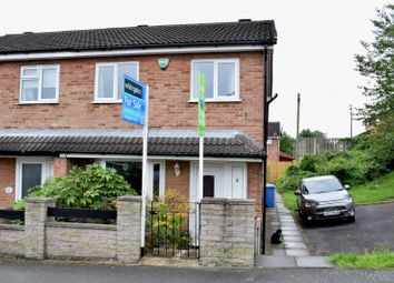 Thumbnail 3 bed end terrace house for sale in Fisher Court, Ilkeston, Derbyshire