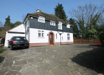 Thumbnail 4 bed detached house for sale in Elstree Road, Bushey Heath, Bushey