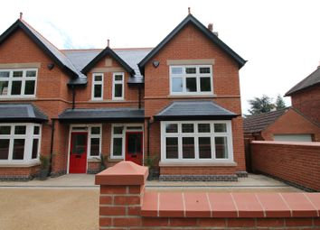Thumbnail 4 bed semi-detached house for sale in Cavendish Place, Beeston, Nottingham