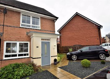 Thumbnail 2 bed terraced house for sale in Burghley Close, Washington